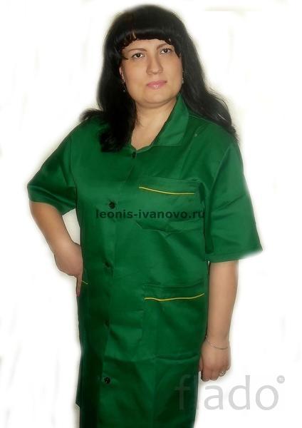 Халат рабочий женский завхоз