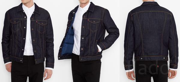 Levi's® - джинсовая куртка пуховик (214930000)