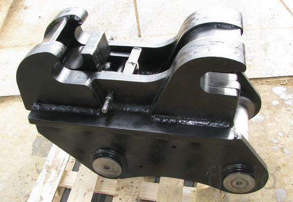 Квик каплер, быстросъем механический для экскаваторов 23 – 27 тонн