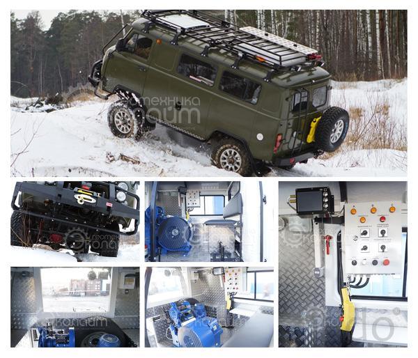 Лаборатория исследования скважин на базе УАЗ-39099