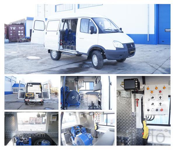 Лаборатория исследования скважин ГАЗ 2752 Соболь (Газель)