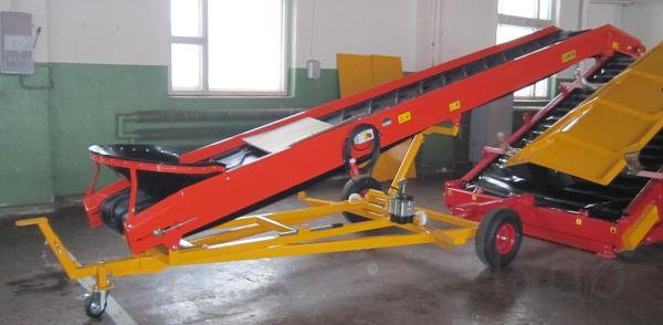 конвейер наклонный нпэ-40, транспортер подающий