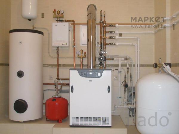 Монтаж систем отопления в  Частных домах Чебоксарах.