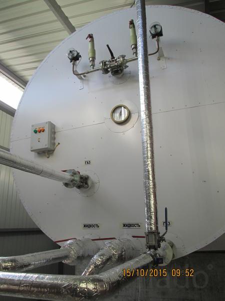 Резервуары для хранения жидкой углекислоты  РДХ