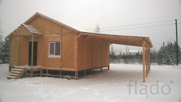 Дом 56 м² на участке 7 сот.
