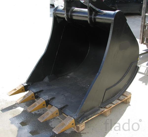 Ковш John Deere 200 LC Джондир кубовый усиленный