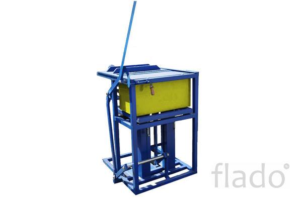 Вибропресс ручной для производства блоков из полистиролбетона