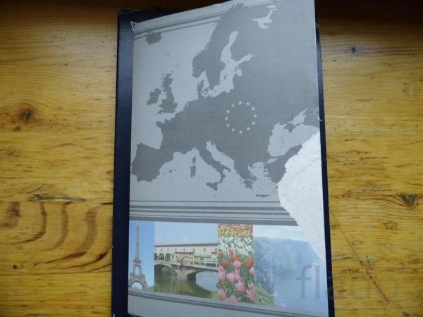 Набор Евромонет в буклете 2 вариант . Италия, Рим. Ватикан