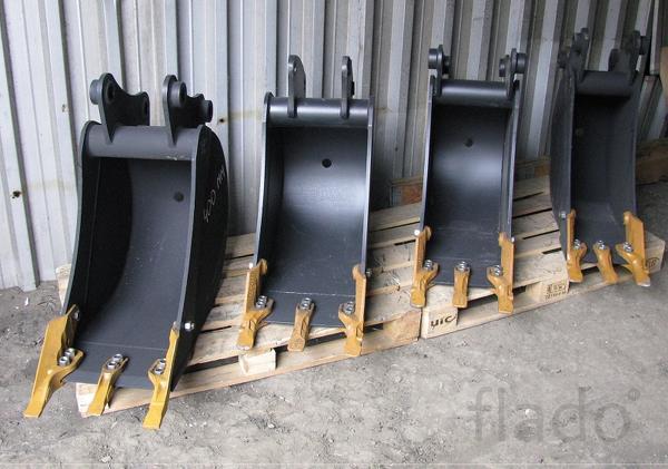 Ковш 300, 400, 600, 900 мм на экскаватор-погрузчик
