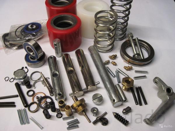Запасные части для гидравлических тележек