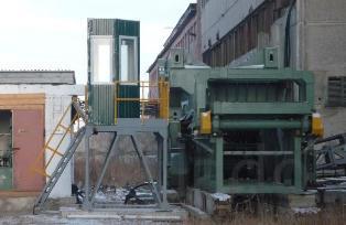 Завод для переработки бетона, ЖБИ