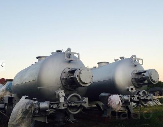 Котел вакуумный КВ-4. 6М для биоотходов (крс, птицы, рыбы) б/у