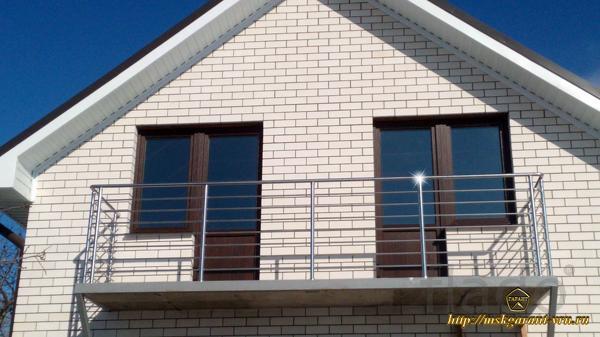 Ограждения балконов,лоджий,витражей