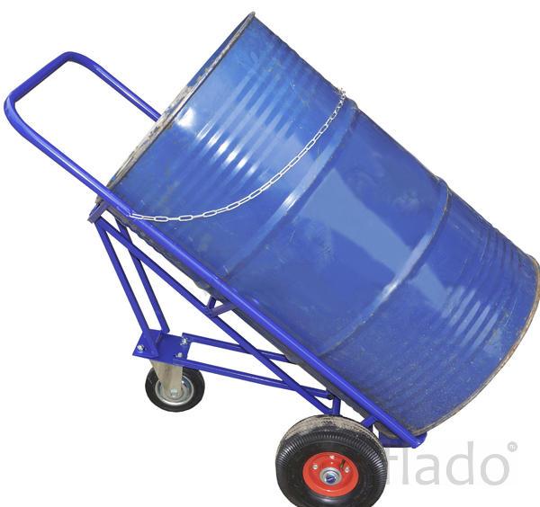 Бочкавоз, (бочкакат) тележка для транспортировки металлических бочек