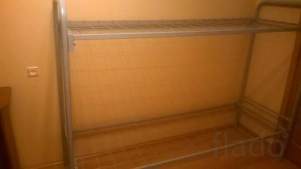 Кровати двухъярусные,металлические кровати для рабочих,гостиниц..