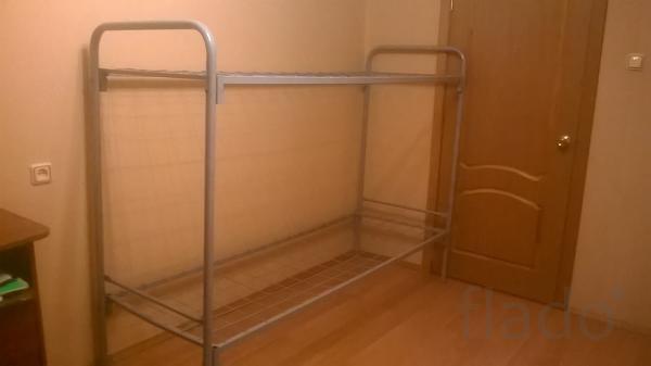 Кровати из железа двухъярусные для рабочих
