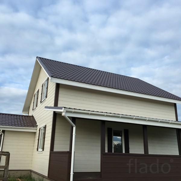 Дом 155 м² на участке 12 сот.