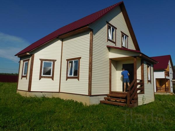 Дом 140 м² на участке 8 сот.