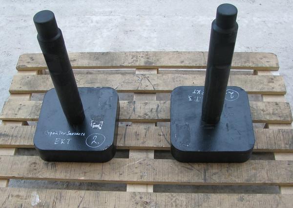 Трамбовка на любой гидромолот массой от 150 до 1000 кг