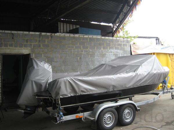 Тент на катер, лодку (транспортировочный)