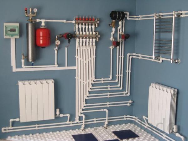 Монтаж систем отопления в Чебоксарах. Недорого.
