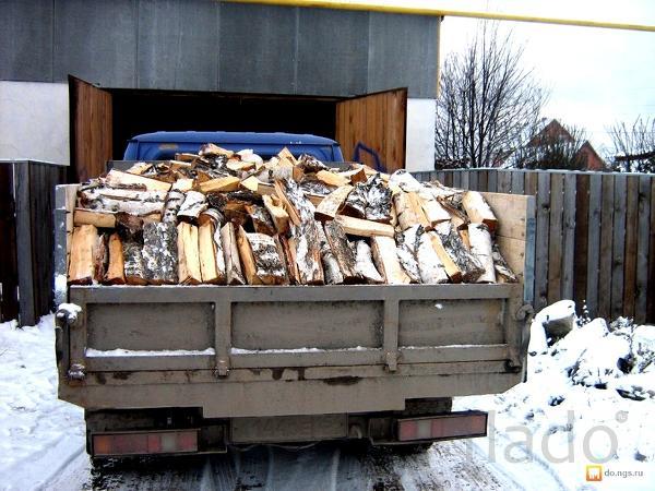 Хорошие колотые дрова, береза. Доставка быстро