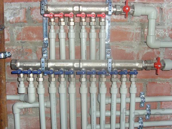 услуги по монтажу систем отопления