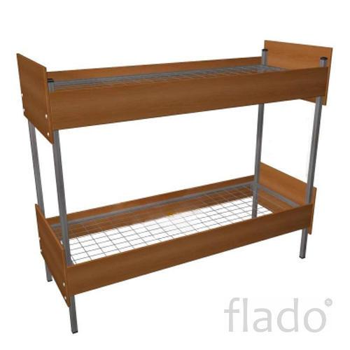 Металлические кровати, для строителей, кровати для вагончиков