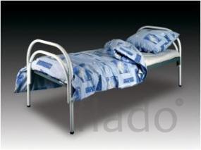 Кровати одноярусные для бытовок, кровати металлические для казарм
