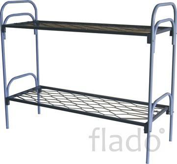 Кровати одноярусные металлические, кровати металлические двухъярусные.