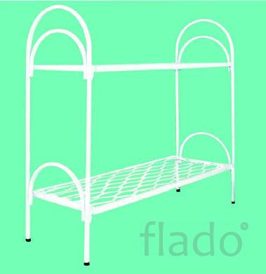 Кровати металлические для казарм, кровати трёхъярусные для рабочих