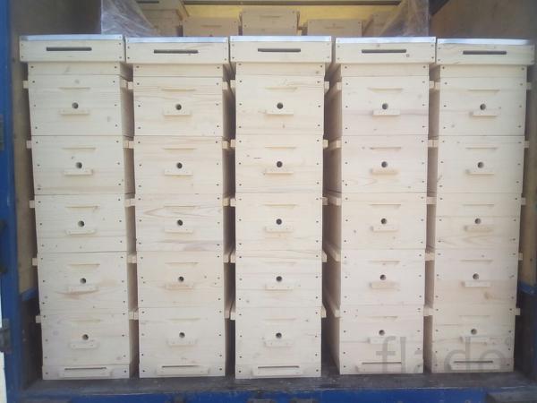 Многокорпусной улей для пчел на 8 рамок