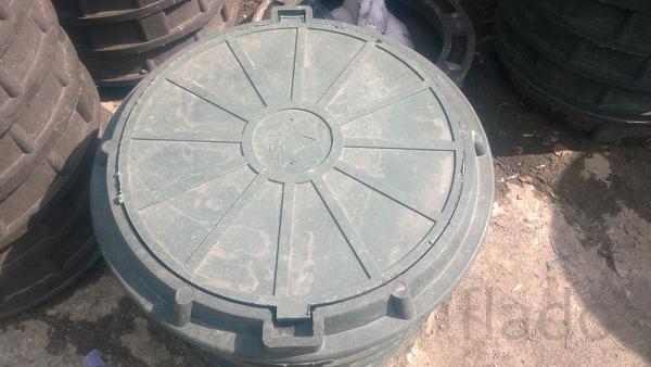 Полимерно-песчаный люк