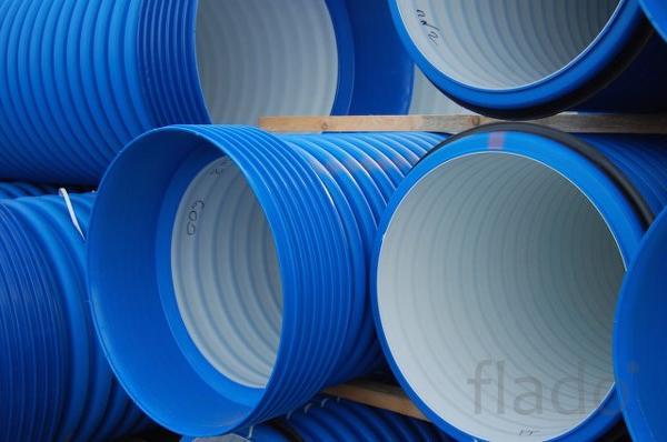 Полиэтиленовые гофрированные трубы для канализации