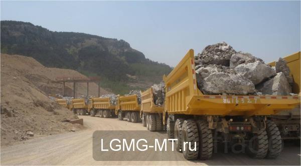 Карьерный самосвал LGMG MT86H
