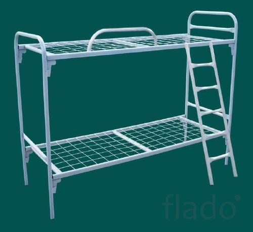 Кровати металлические трёхъярусные, кровати для школ, кровати дёшево