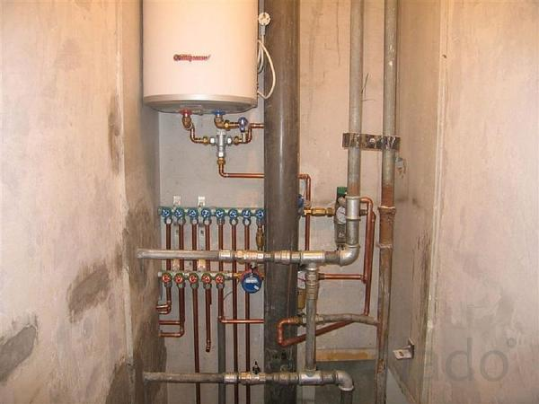 Монтаж и демонтаж системы водопровода и канализации