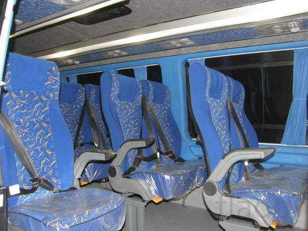 Туристические сидения на Мерседес Бенц Спринтер и Классик
