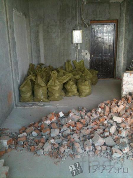 вывоз строительного мусора в мешках т 464221