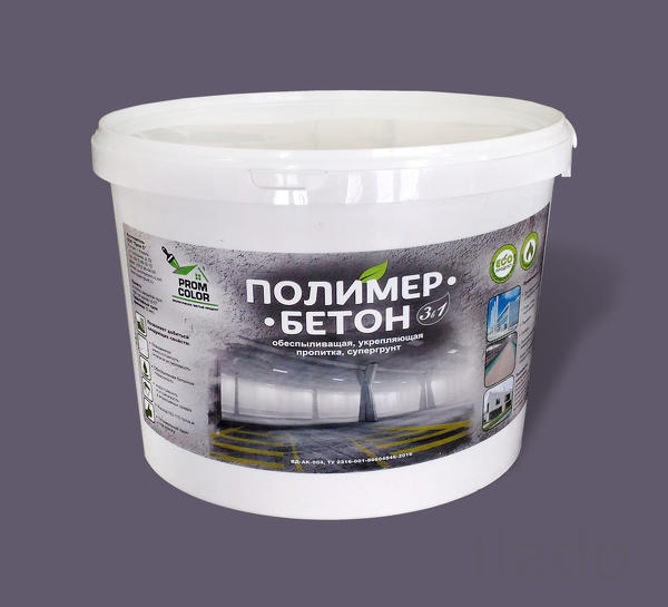Полимер-бетон обеспыливающая упрочняющая пропитка