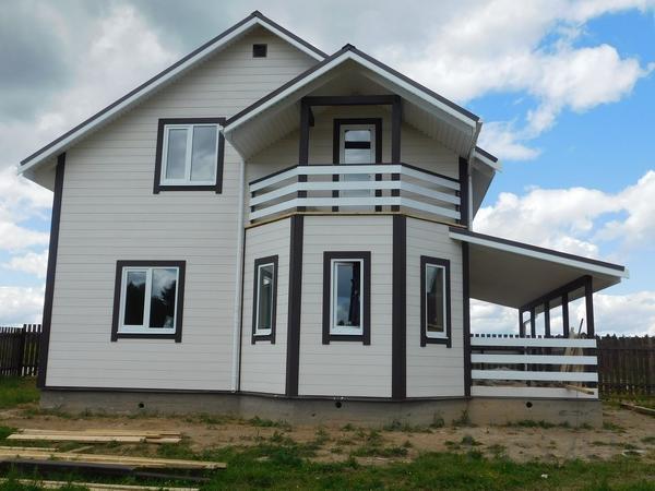 Дом 160 м² на участке 12 сот.