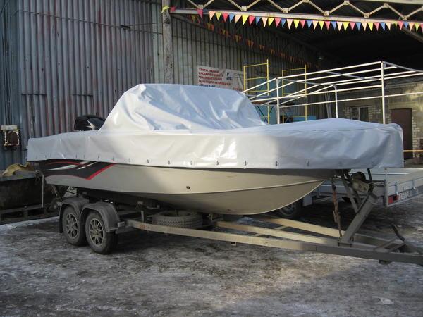 Тент (чехол) транспортировочный на катера и лодки