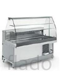 Витрина тепловая IFI MIX 125 VAC CS/ сухим подогревом без обшивки