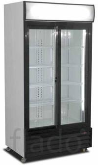 Шкаф холодильный со стеклянными дверьми JUMBO P100 демо