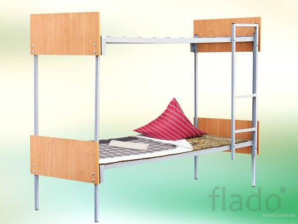 Трёхъярусные металлические кровати для общежитий, низкие цены