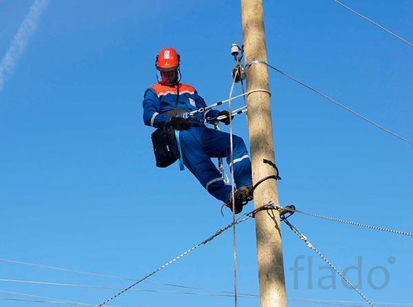 Протяжка СИП, подключение к электричеству