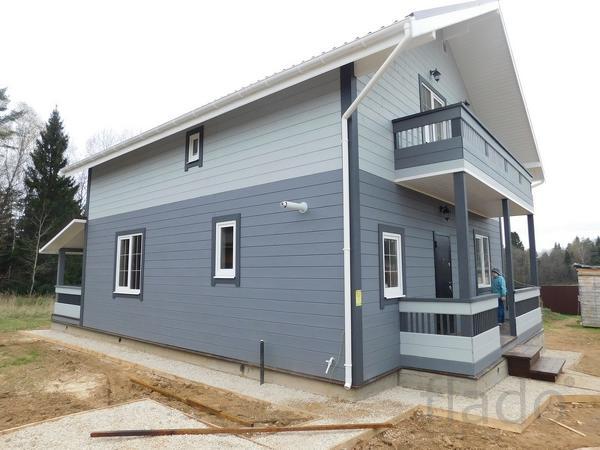 Дом 155 м² на участке 8 сот.