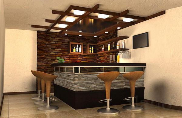 Строим барные стойки для магазинов, кафе, ресторанов