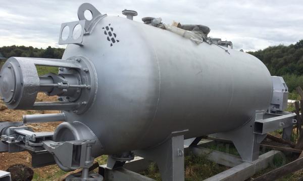 Маленький котел для утилизации и переработки биоотходов 2.8 куба