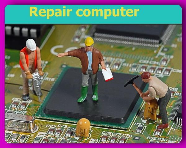 Замена чипов и видеоматриц при ремонте ноубуков